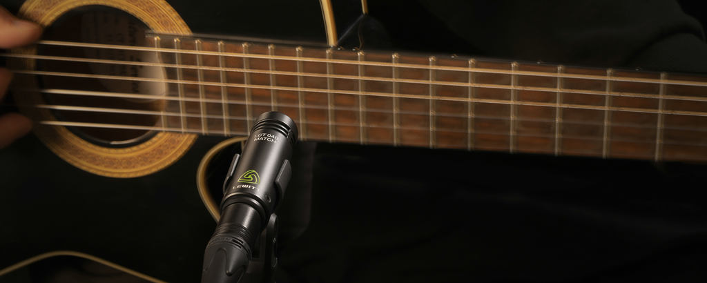 Acoustic guitar recording